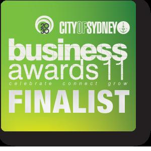 Finalist Sydney Business Awards
